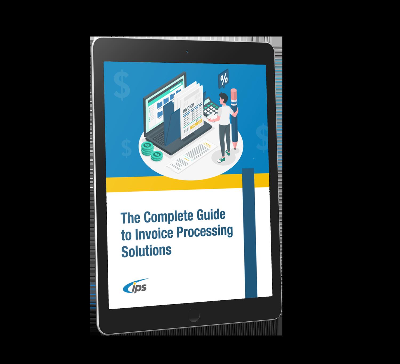 Invoice Processing eBook Cover