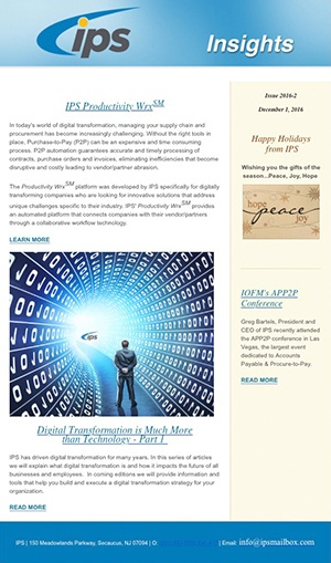 ap automation best practices newsletter